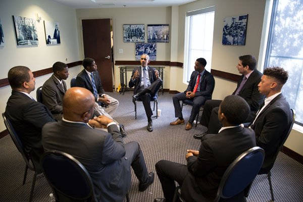 Juma youth joins President Obama in North Carolina student forum